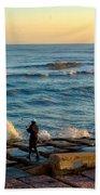 Bank Fishing Beach Towel