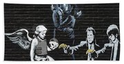 Banksy - Failure To Communicate Beach Towel