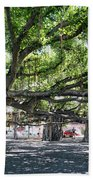 Banyan Tree Beach Towel
