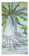 Baobab Grove Beach Towel