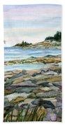 Bar Harbor Beach Towel