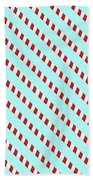 Barber Shop Wallpaper Beach Towel