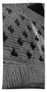 Barcelona Brick Wall Beach Towel
