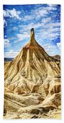Bardenas Desert Last Man Standing - Vintage Version Beach Towel