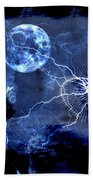 Bark At The Moon Beach Towel