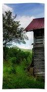 Barn After Rain Beach Sheet