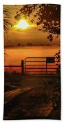 Barn Bridge Beach Towel