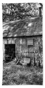 Barn In The Ozarks B Beach Towel