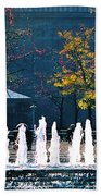 Barney Allis Plaza-kansas City Beach Towel