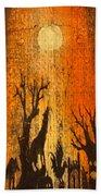 Barnwood Howl Beach Towel