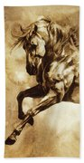 Baroque Horse Series IIi-i Beach Sheet