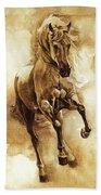 Baroque Horse Series IIi-ii Beach Towel
