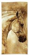 Baroque Horse Series IIi-iii Beach Towel