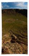 Barringer Meteor Crater #3 Beach Towel