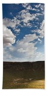 Barringer Meteor Crater #4 Beach Towel