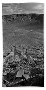 Barringer Meteor Crater #7 Beach Towel