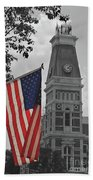 Bartholomew County Court House Beach Towel