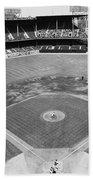 Baseball Game, C1953 Beach Towel