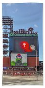 Baseball In Philadelphia - Citizens Bank Park Beach Towel