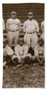 Baseball: Negro Leagues Beach Towel
