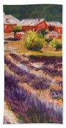 Lavender Smell Beach Towel