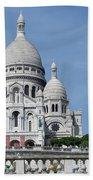 Basilica Du Sacre-coeur De Montmartre Beach Towel