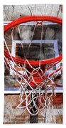 Basketball Art Version 28 Beach Towel