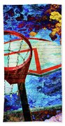Basketball Dream Beach Towel