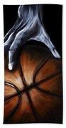 Basketball Legend Beach Towel