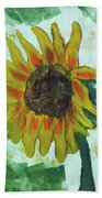 Basking In The Sun Beach Towel