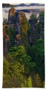 Bastei Beach Towel