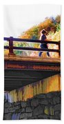 Bastion Falls Bridge 1 Beach Towel