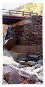 Bastion Falls Bridge 4 Beach Towel