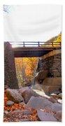 Bastion Falls Bridge 6 Beach Towel