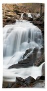 Bastion Falls In April Beach Towel