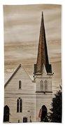 Bath Congregational Church Beach Sheet