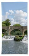 Bathampton Bridge Beach Towel