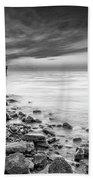 Bathe In The Winter Sun Beach Sheet