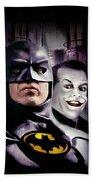 Batman 1989 Beach Towel