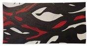 Bats And Eyes Beach Sheet