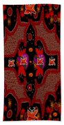 Bats In The Dark Beach Towel