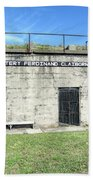 Battery Ferdinand Claiborne Beach Towel