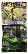 Battery Park Fall Colors  Beach Sheet