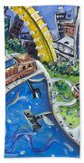 Battery Park Beach Towel