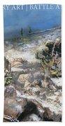 Battle At Roberts Ridge Beach Towel