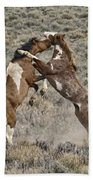 Battle For Dominance Beach Towel