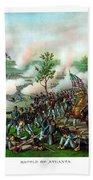 Battle Of Atlanta Beach Towel