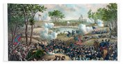 Battle Of Cold Harbor Beach Towel