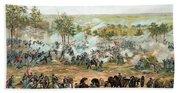 Battle Of Gettysburg Beach Sheet