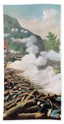 Battle Of Kenesaw Mountain Georgia 27th June 1864 Beach Towel by American School